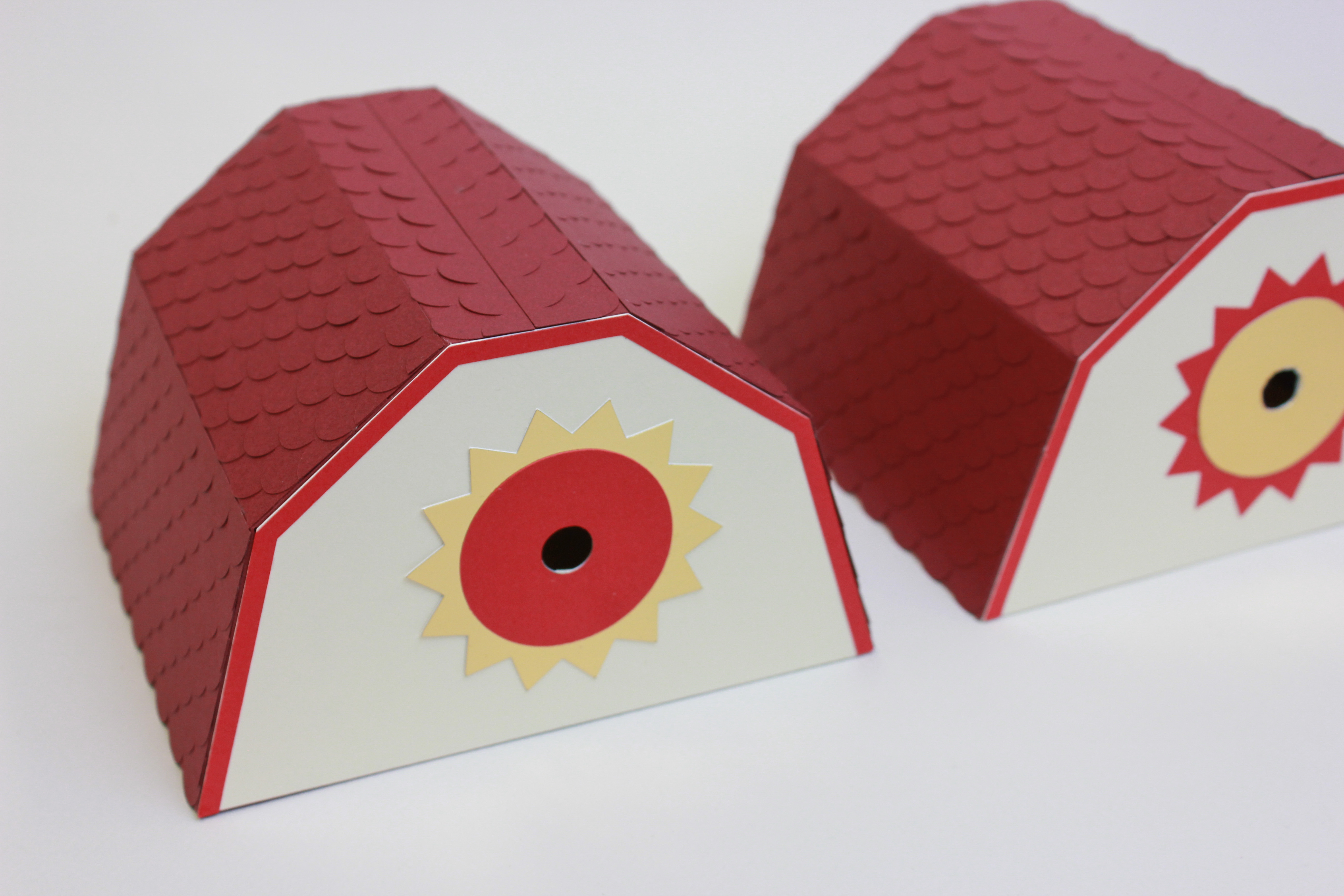 paper art vitrine noel papier découpé scénographie